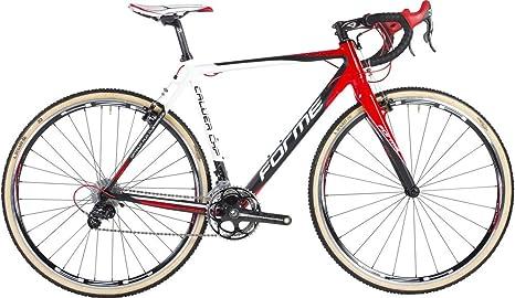Forme Calver CX Pro ciclocross bicicleta de carretera con Campagnolo Athena, rojo: Amazon.es: Deportes y aire libre