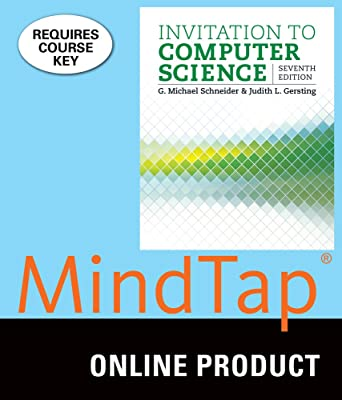 Amazon Com Mindtap Computer Science For Schneider Gersting S