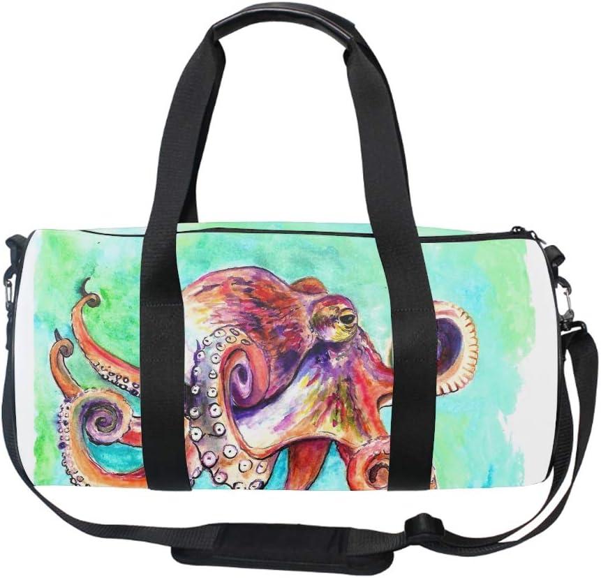 A Crawling Lizard Sports Gym Bag Large Capacity Travel Duffel Bag