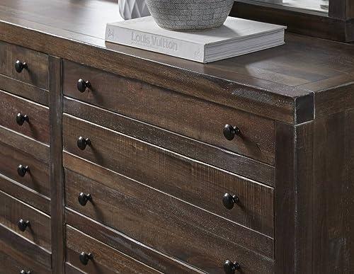 Modus Furniture Townsend Solid Wood 8-Drawer Dresser