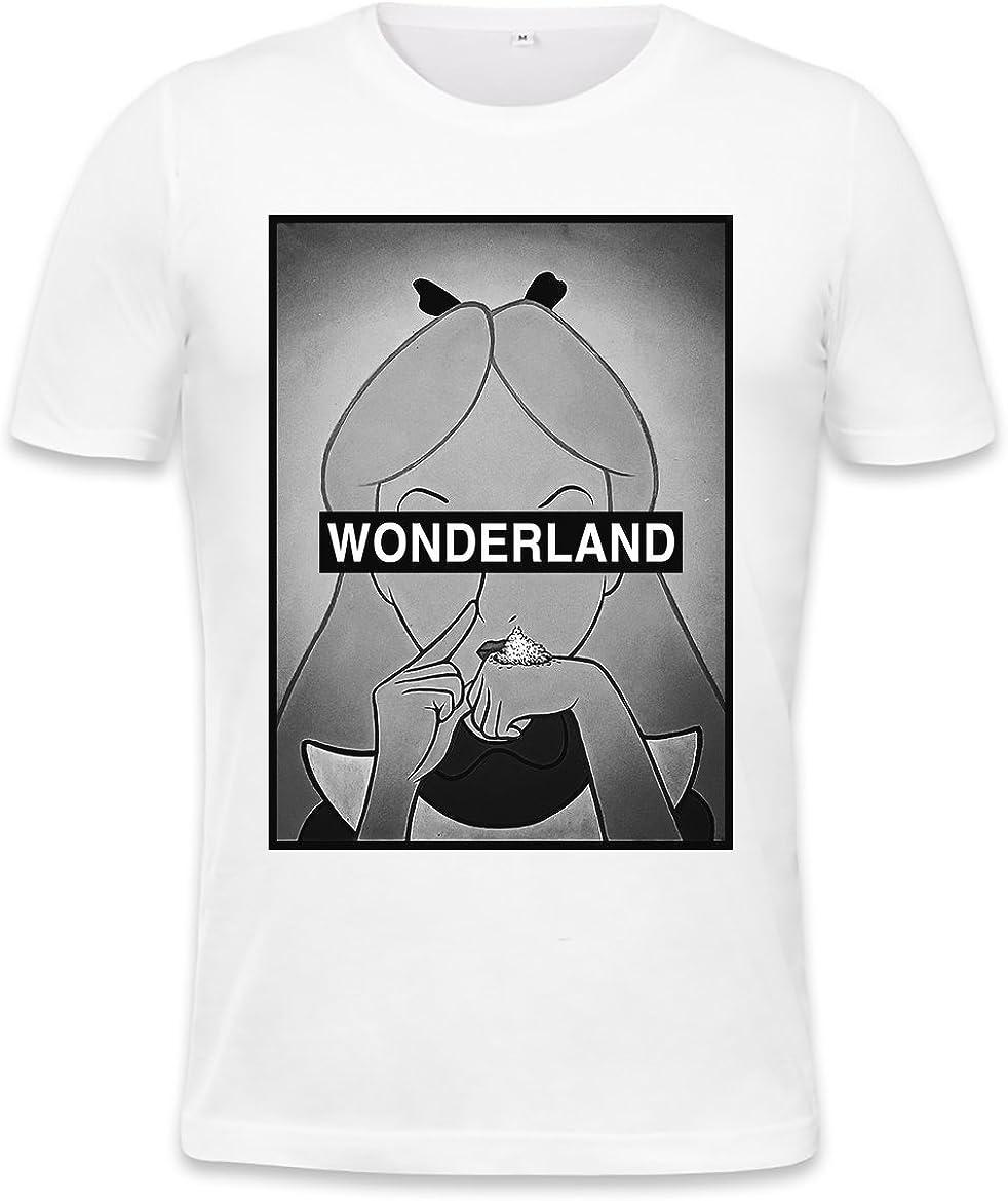 Alice In Wonderland Cocain Drug Parody Blanket KIDS // MEDIUM // LARGE