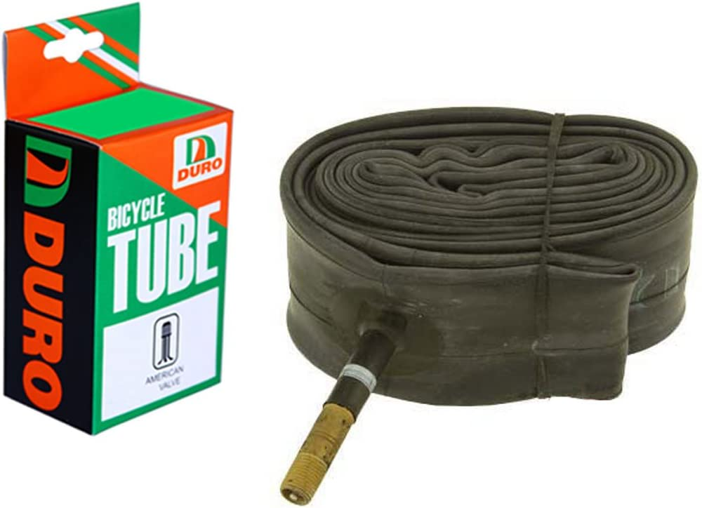 """Bicycle Duro Inner Tube 26/"""" x 1.75/""""//2.125/"""" 33mm Thorn Proof Schrader"""