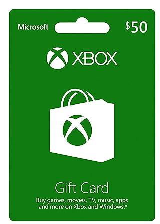 Amazon xbox gift card 50 xbox 360 xbox gift card 50 negle Gallery