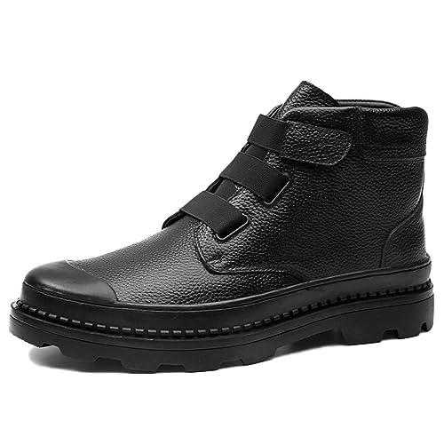 Botas De Seguridad para Hombre con Puntera De Acero Impermeables Zapatillas De Deporte Martin Botas Altas