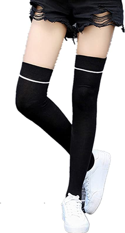 Kids Half Bow Socks High Long Soft Winter Cotton Baby Slip Socks Knee Pads Girls