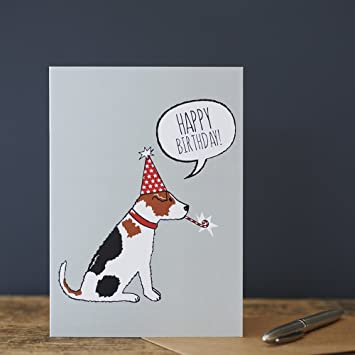 Jack Russell Birthday Card Amazon Office Products