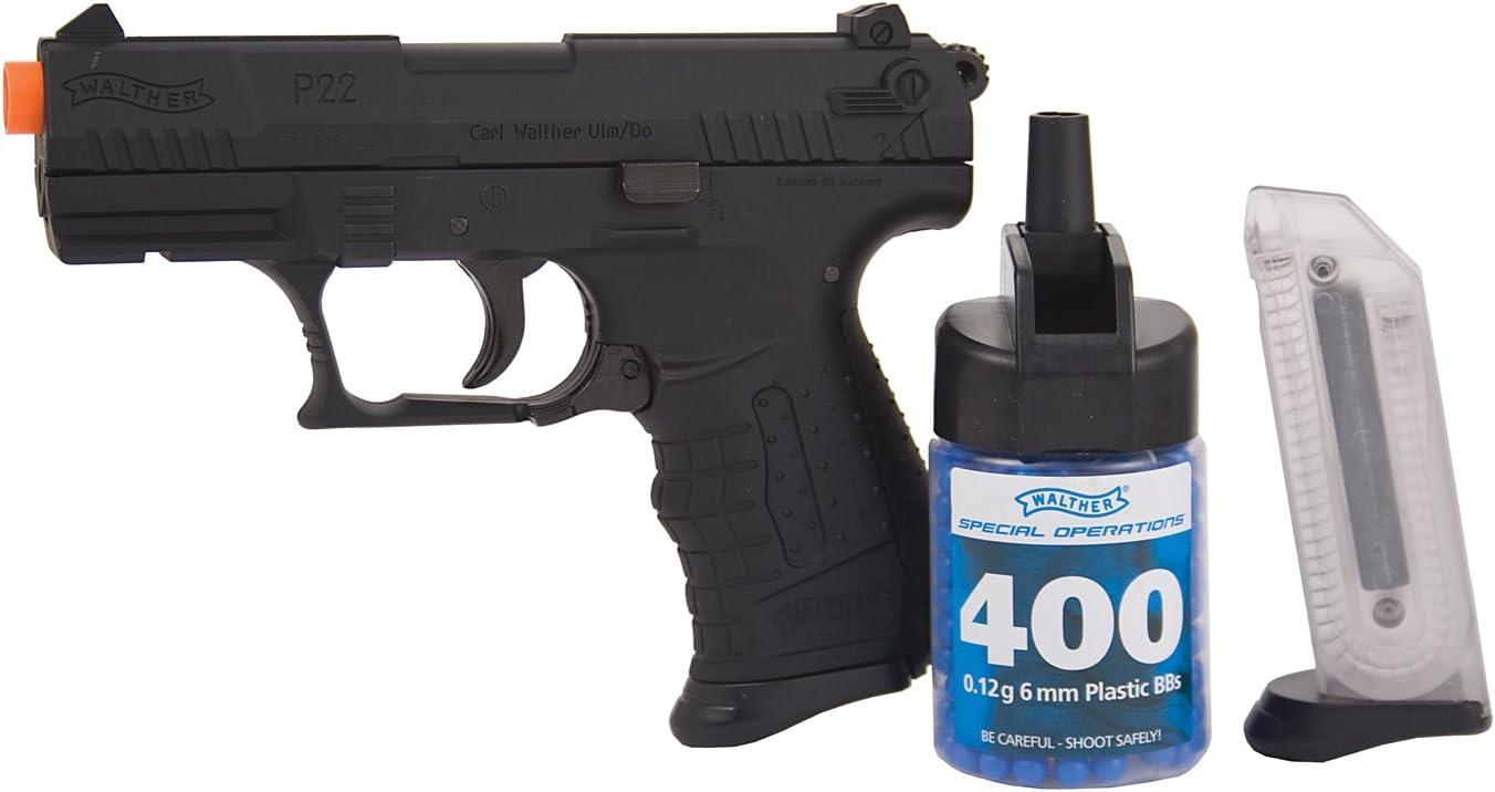 walther p22 special operations, black airsoft gun(Airsoft Gun)
