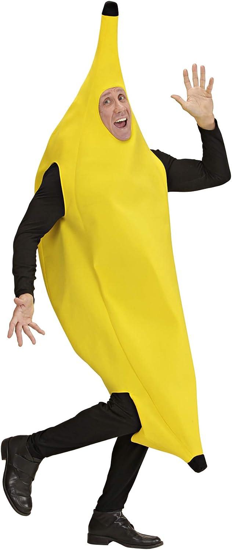 WIDMANN Widman - Disfraz de plátano adultos, talla M (42482 ...