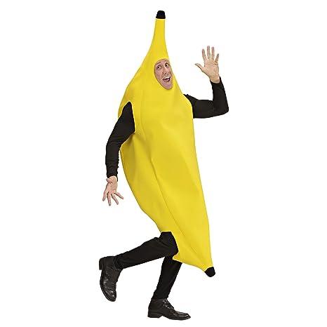WIDMANN Desconocido Disfraz de plátano| talla S: Amazon.es ...
