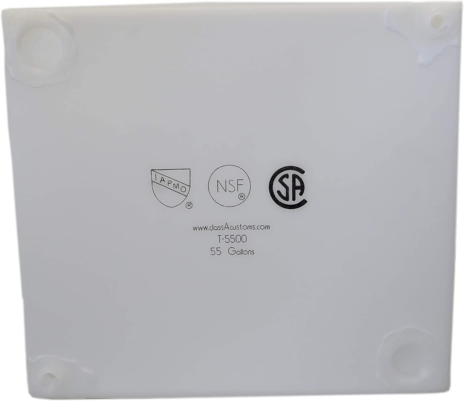 55 Gallon /& 75 Gallon Class A Customs RV Fresh and Gray Water Tank Combo Pack | NSF//CSA//FDA Certified RV Water Holding Tanks