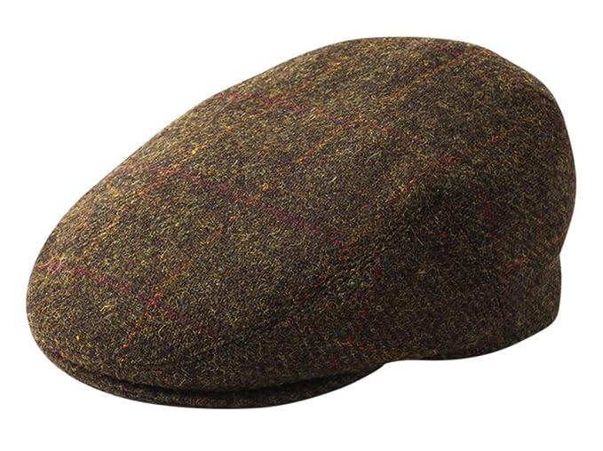 436e474f365 Failsworth Stornoway Genuine Harris Tweed Flat Cap Olive 2017 (56cm - 6 7 8