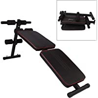 Fitsy Foldable Decline Sit Up AB Fitness Adjustable Exercise Bench for Home Gym