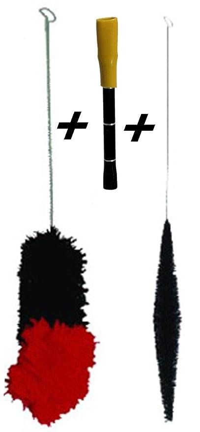 Alta calidad cepillo de limpieza Set para Bong pipa sin Schmand forma. Fácil de limpieza