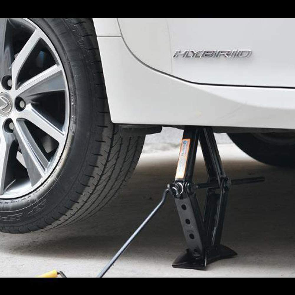 Kvsrr Heavy Duty Car Scissor Lift Jacks 1.5T Leveling Jacks Auto Emergency Tools