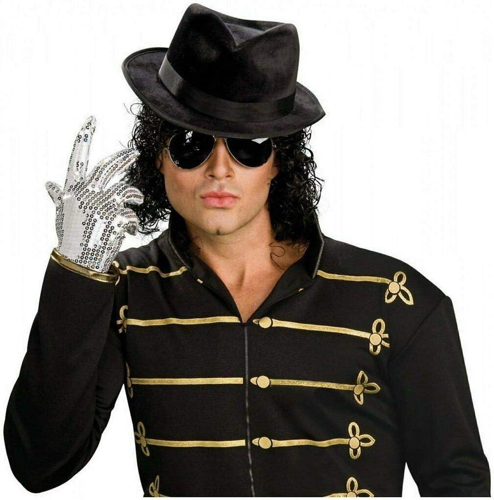 Michael Jackson Sparkle Chaussettes Pop Star Argent Halloween Enfant Costume Accessoire