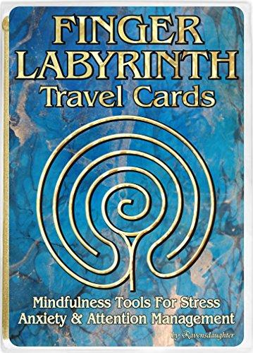 (Finger Labyrinth Travel Cards)