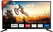 Smart TV LED, Philco, TV PTV39E60Sn Led, Preto, 39