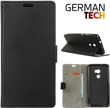 German Tech® - Funda carcasa tipo Libro para HTC One X10, protege ...