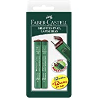 Grafite 0.5mm 2B 2 Tubos de 24 Cada, Faber-Castell