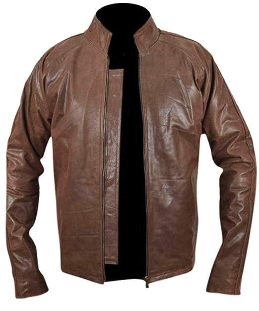 Leatherly Chaqueta de hombre Tom Cruise Jack Reacher Real Cuero Chaqueta: Amazon.es: Ropa y accesorios