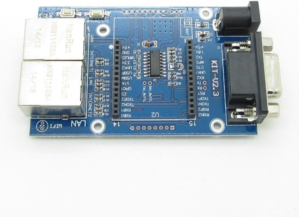 1PCS HLK-RM04 UART to WIFI Serial Port to Wifi Module Test Base Board TOP