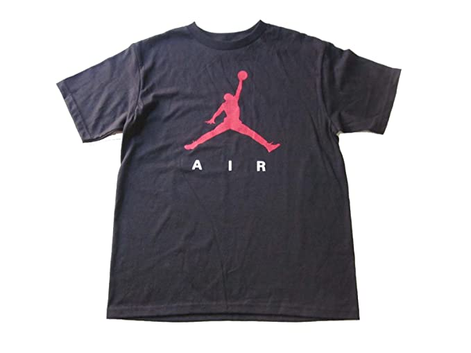 c6e1e9f844d203 Amazon.com  Nike Boys Air Jordan Logo T-Shirt Youth Size Black ...