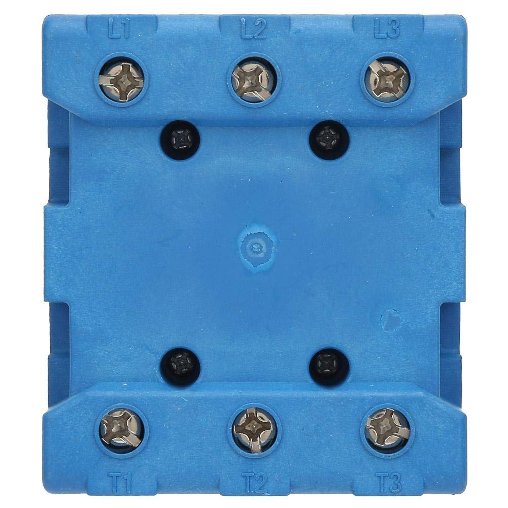 100A Interrupteur de disjoncteur de charge interrupteur de disjoncteur de charge 80A//100A Interrupteur marche//arr/êt /à came rotative 3 p/ôles 2 positions
