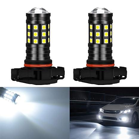 KaTur - Bombillas LED de Freno de luz de Marcha Atrás de 2700 Lúmenes 3030 27SMD