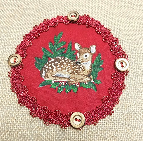 Amazon.com: Small Table Runner Christmas Deer: Handmade