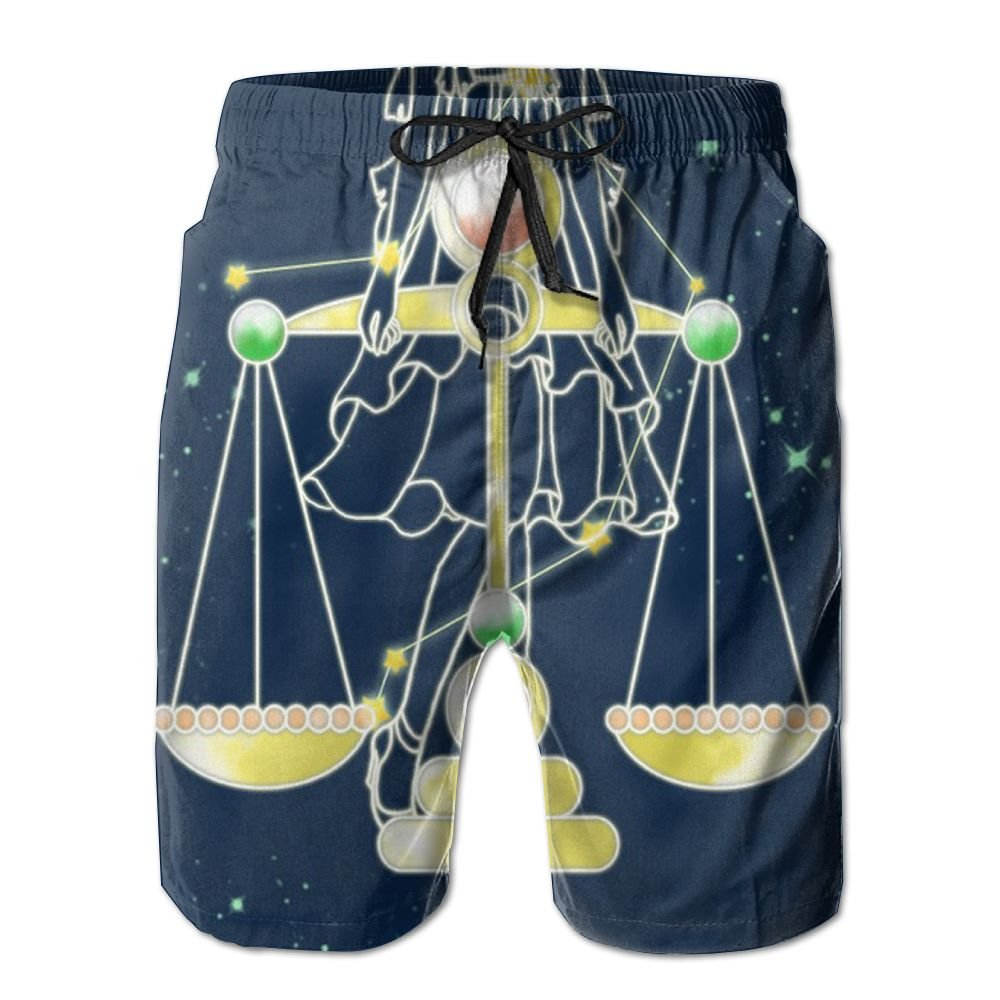 YOIGNG Boardshorts Star Universe,Constellation Mens Quick Dry Swim Trunks Beach Shorts