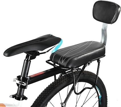 Binglinghua - Asiento trasero de seguridad para bicicleta, asiento ...