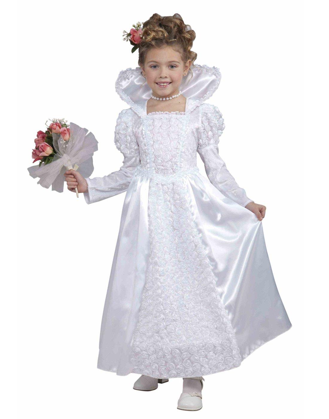 Forum Novelties Deluxe Designer Collection Bride Princess Costume, Child Medium