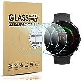 Diruite 4-Pack for Polar Vantage M/Polar Vantage V Screen Protector Tempered Glass [2.5D 9H Hardness] [Anti-Scratch…