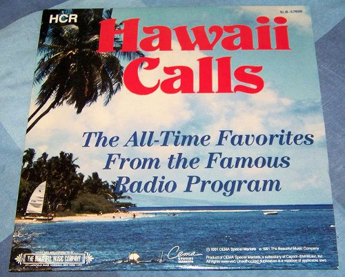 Hawaii Calls 2LP All Time Favorites from the Radio Program Vinyl