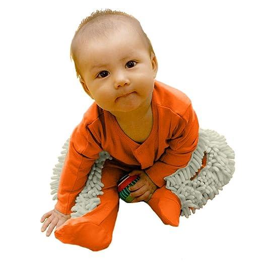 2167f2f65735 Amazon.com  chinatera Newborn Baby Boys Girls Mop Clothes Long ...