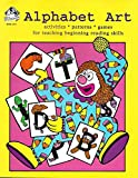 img - for Alphabet art: Activities, patterns, games for teaching, beginning reading skills (Wendy's Bookworks) book / textbook / text book