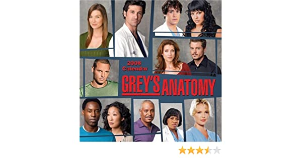 Grey\'S Anatomy 2020 Calendar Grey's Anatomy 2008 Calendar: Andrews McMeel Publishing