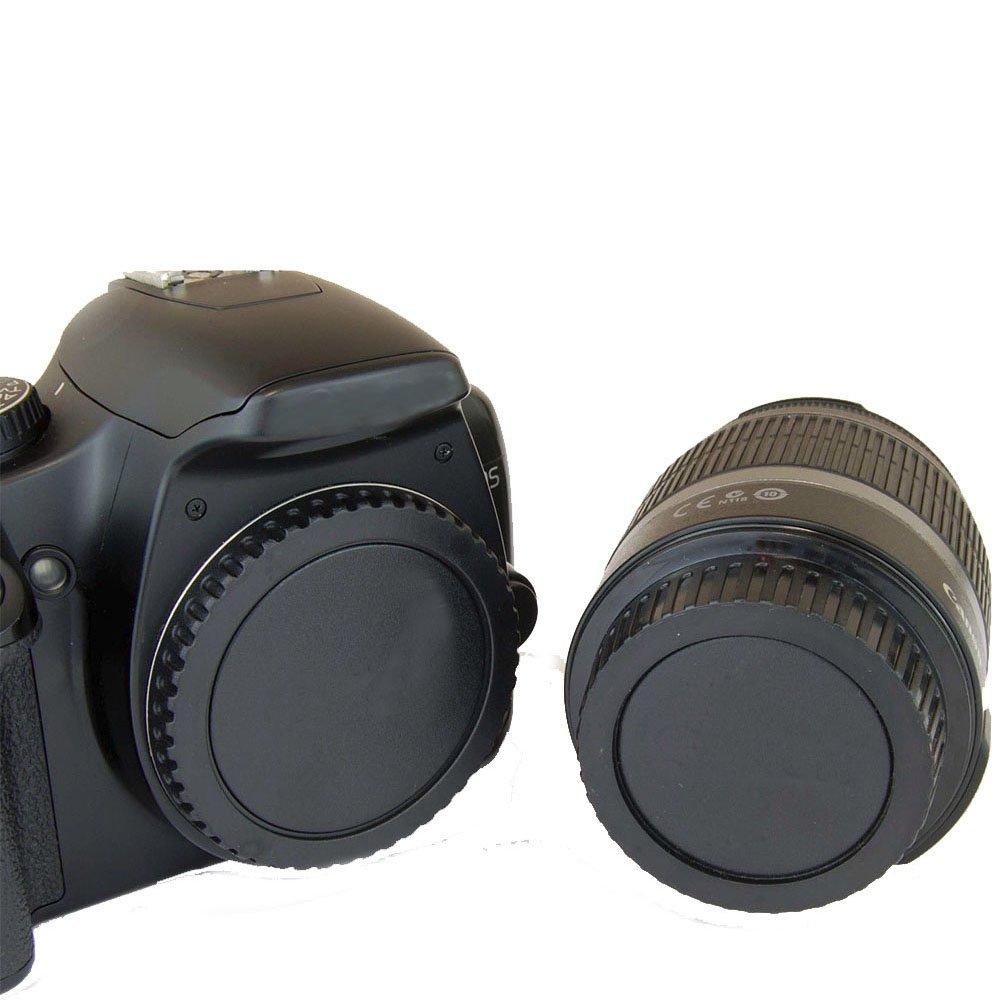 Per Pentax PK K il coperchio della copertura dellobiettivo della fotocamera del monte Market/&YCY Coperchio dellalloggiamento della copertura posteriore dellobiettivo della fotocamera e dello