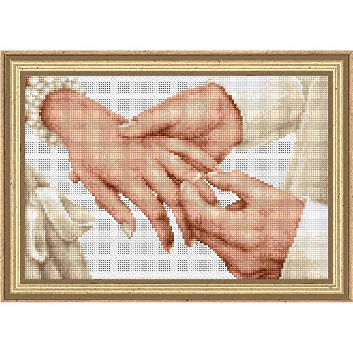 Luca S Forever Wedding Ring Cross Stitch Kit