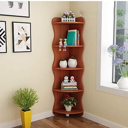 Amazon.com: Xiaomei Living Room Corner Cabinet Corner Wine Cabinet ...