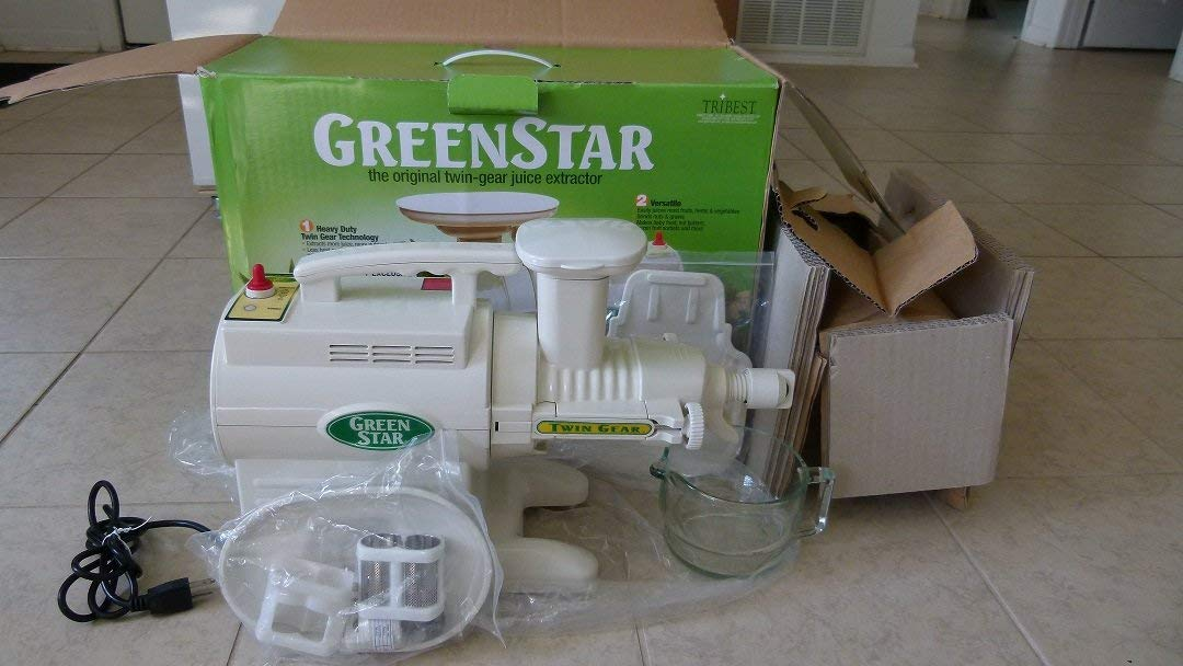Tribest Green Star GS-2000 Complete Juice Extractor by Tribest ...