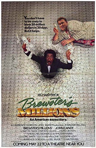 Brewster's Millions 11 x 17 Movie Poster - Style A