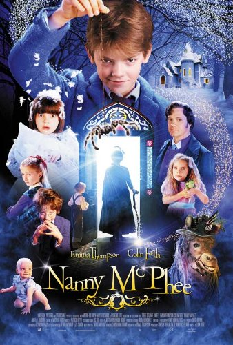 Image result for nanny mcphee movie poster