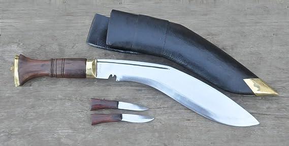 Amazon.com: Cuchillo gurkha estilo Kukri auténtico ...