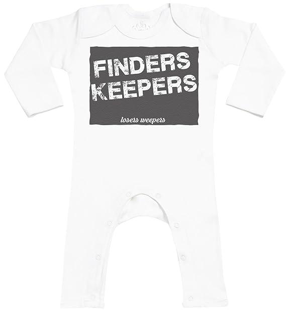 Finders Keepers Footless - peleles para bebé - peleles para bebé niño - peleles para bebé niña: Amazon.es: Ropa y accesorios