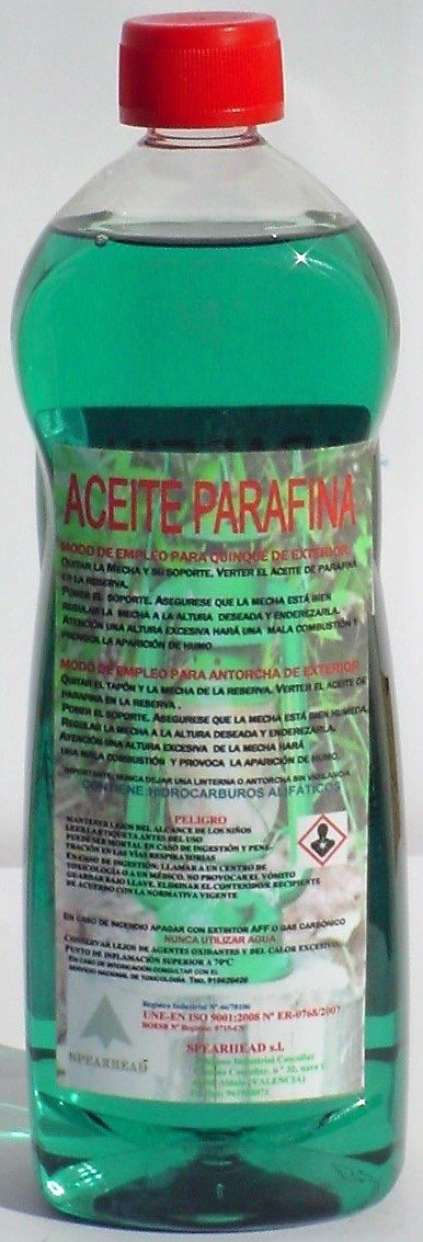 ACEITE PARAFINA VERDE SPEARHEAD