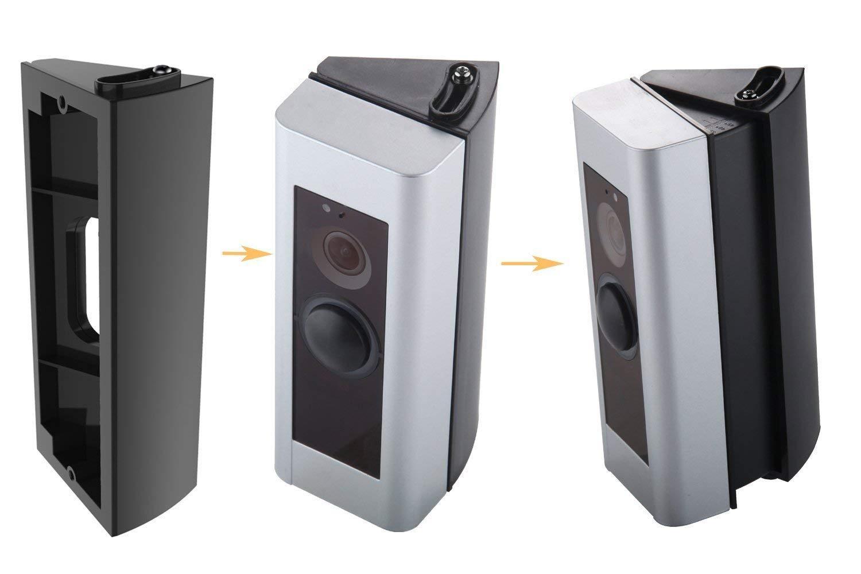 Winkel Adapter Montageplatte Halterung Keil Ecke Kit f/ür Ring Doorbell 2 //Original 30 bis 55 Grad Wei/ß CAVN Einstellbare Winkelhalterung Kompatibel mit Ring Video Doorbell 2 //Ring Video Doorbell