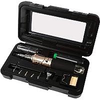 Set fer à souder 10en 1Kit fer à souder portable professionnel avec allumage automatique torche outil