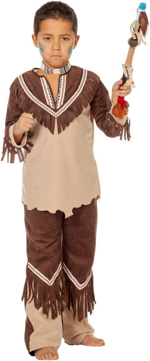 Wilber indios Cherokee 3315 disfraz Niño salvaje oeste Apache ...