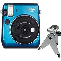 Câmera Instantânea FujiFilm Instax Mini 70 Azul + Tripé c/cabeça móvel